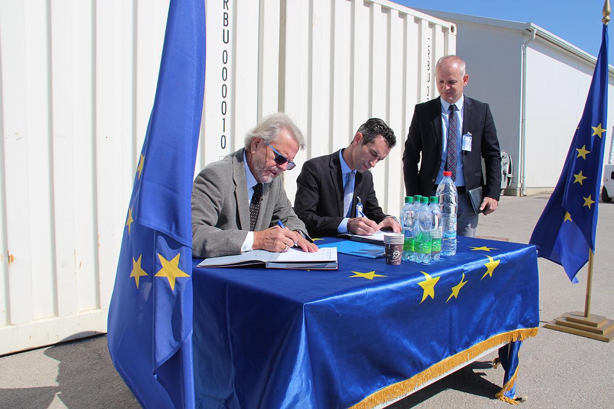 EULEX-i i dhuron pajisje Këshillit Gjyqësor të Kosovës