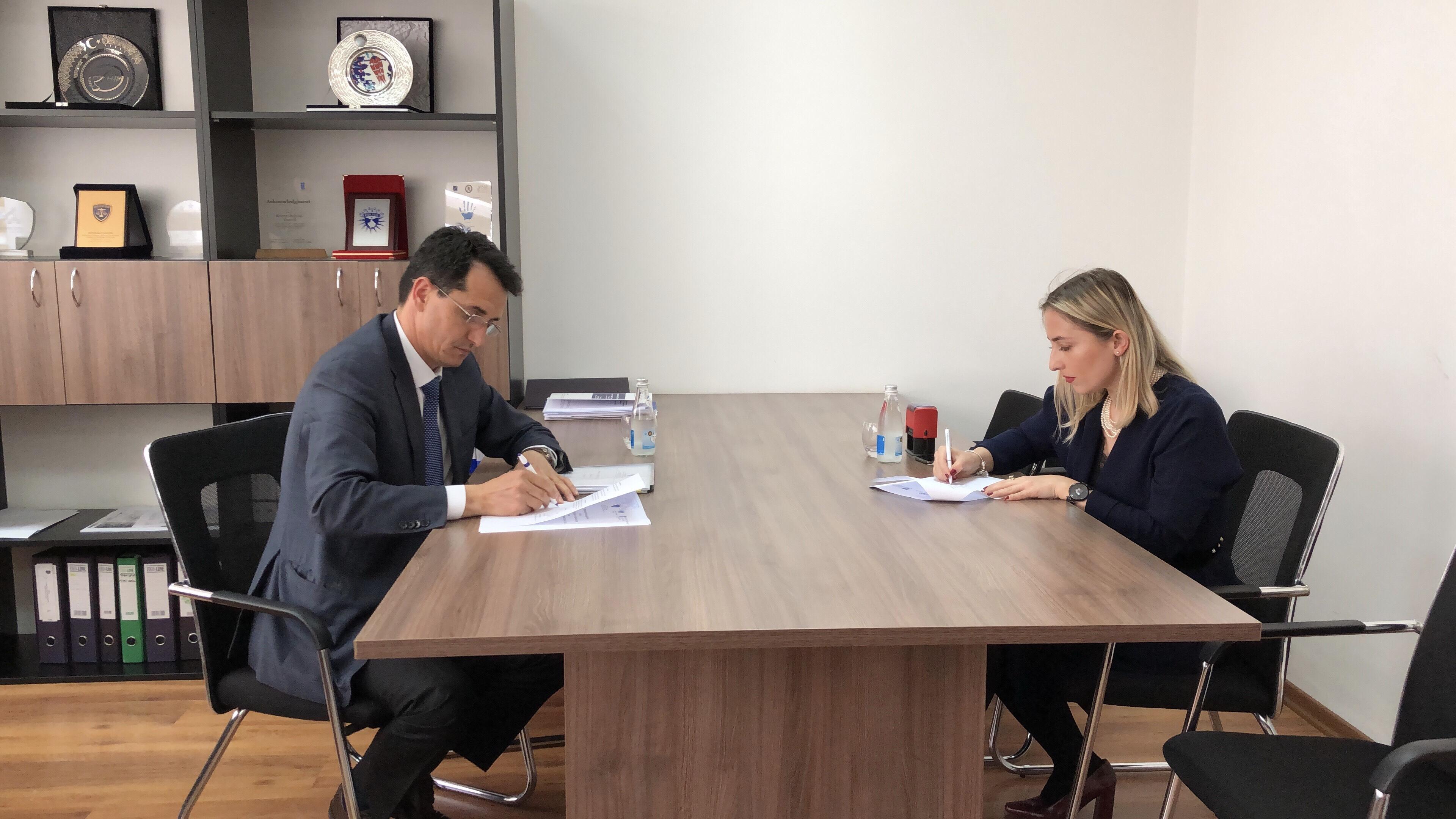 KGjK dhe GLPS nënshkruan memorandum të bashkëpunimit