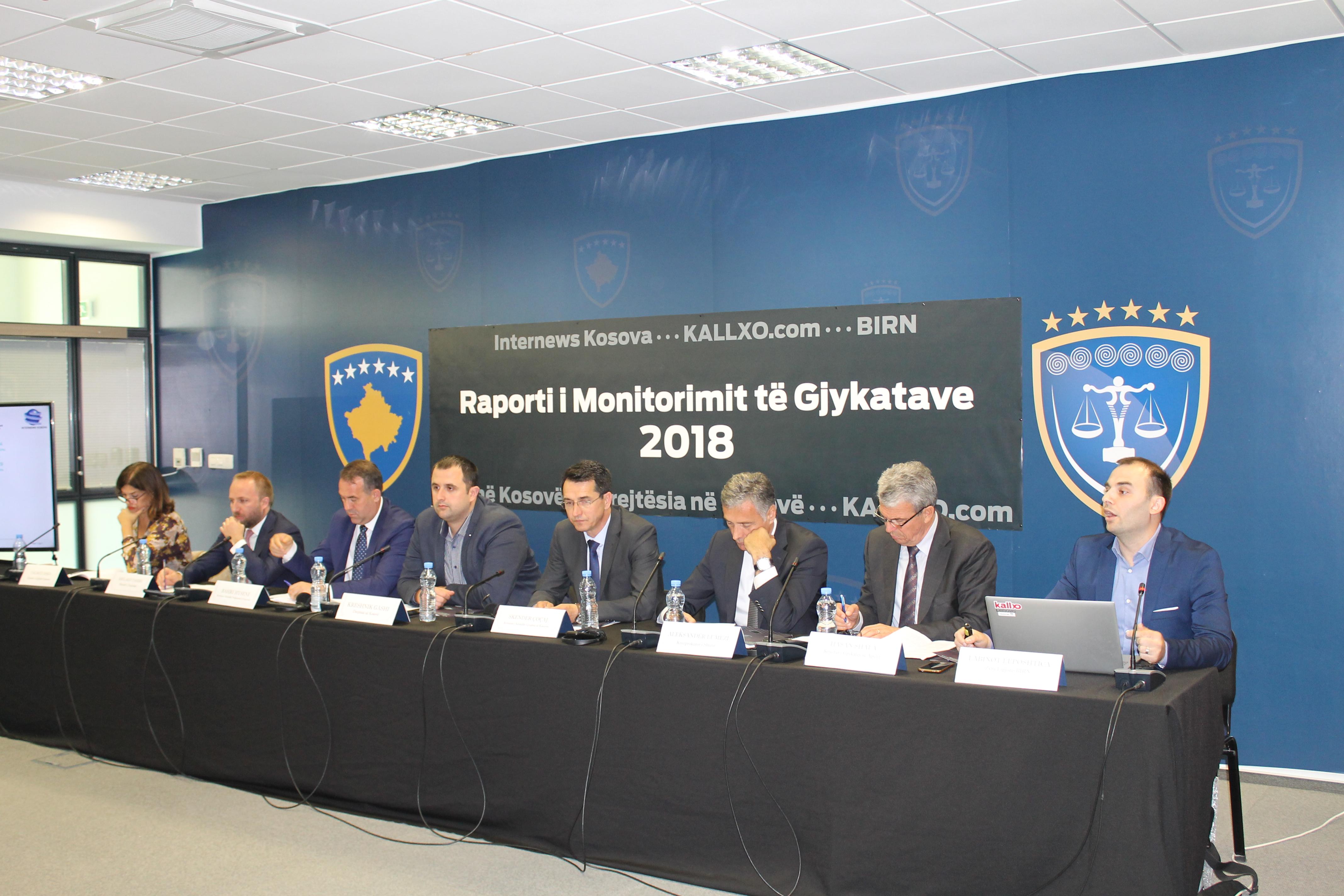 Kryesuesi i KGjK, Skënder Çoçaj, mori pjesë në prezantimin e raportit vjetor të monitorimit të gjykatave