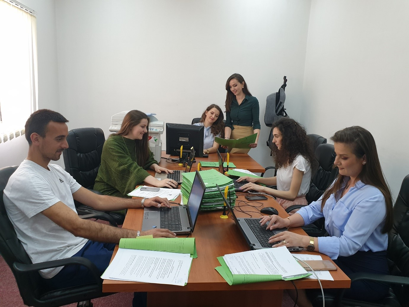 Basic Court of Ferizaj completed entirely civil case backlogs registration in the CMIS system