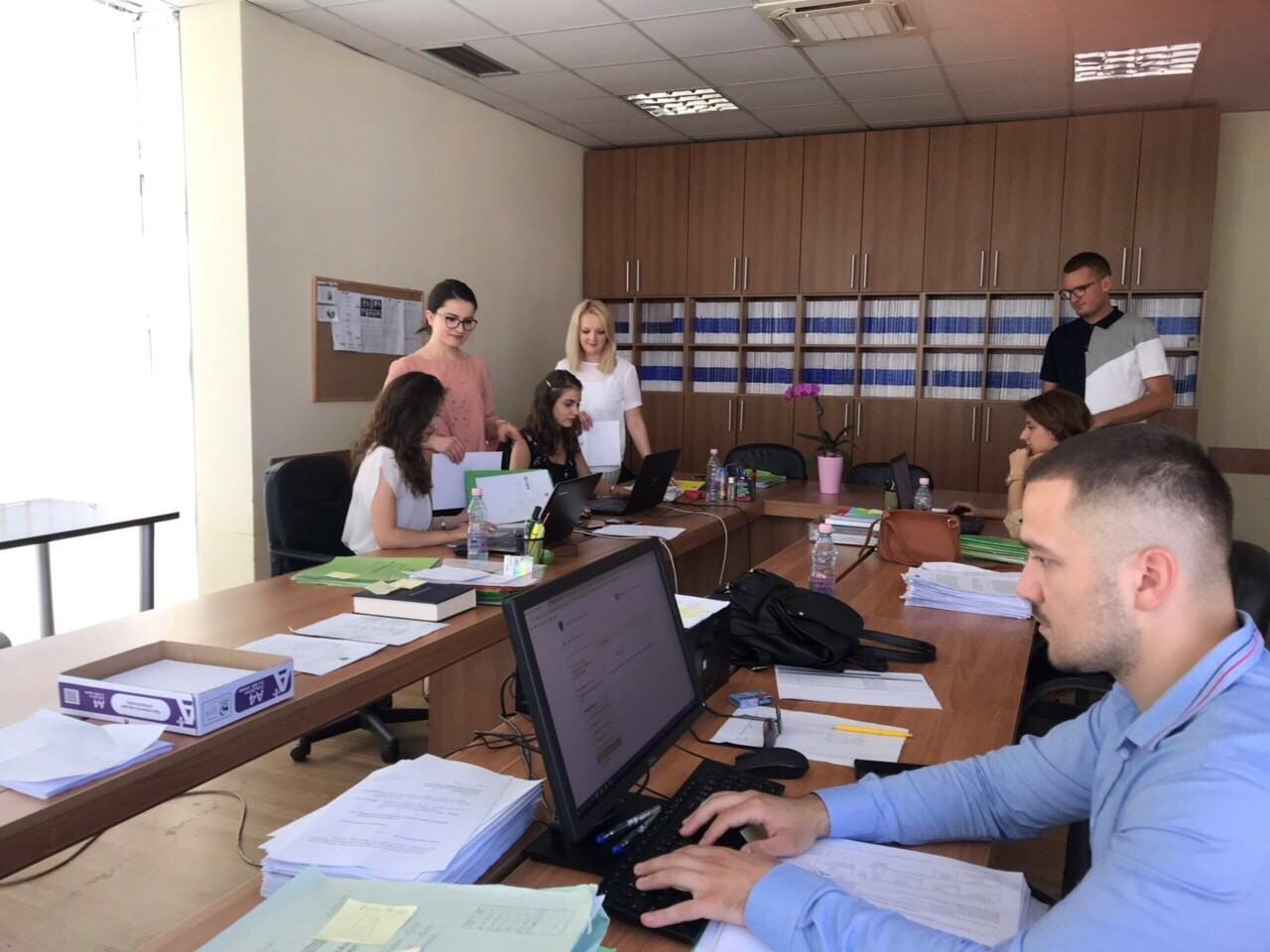 Basic Court of Gjilan completes the registration of backlog of civil cases on CMIS system