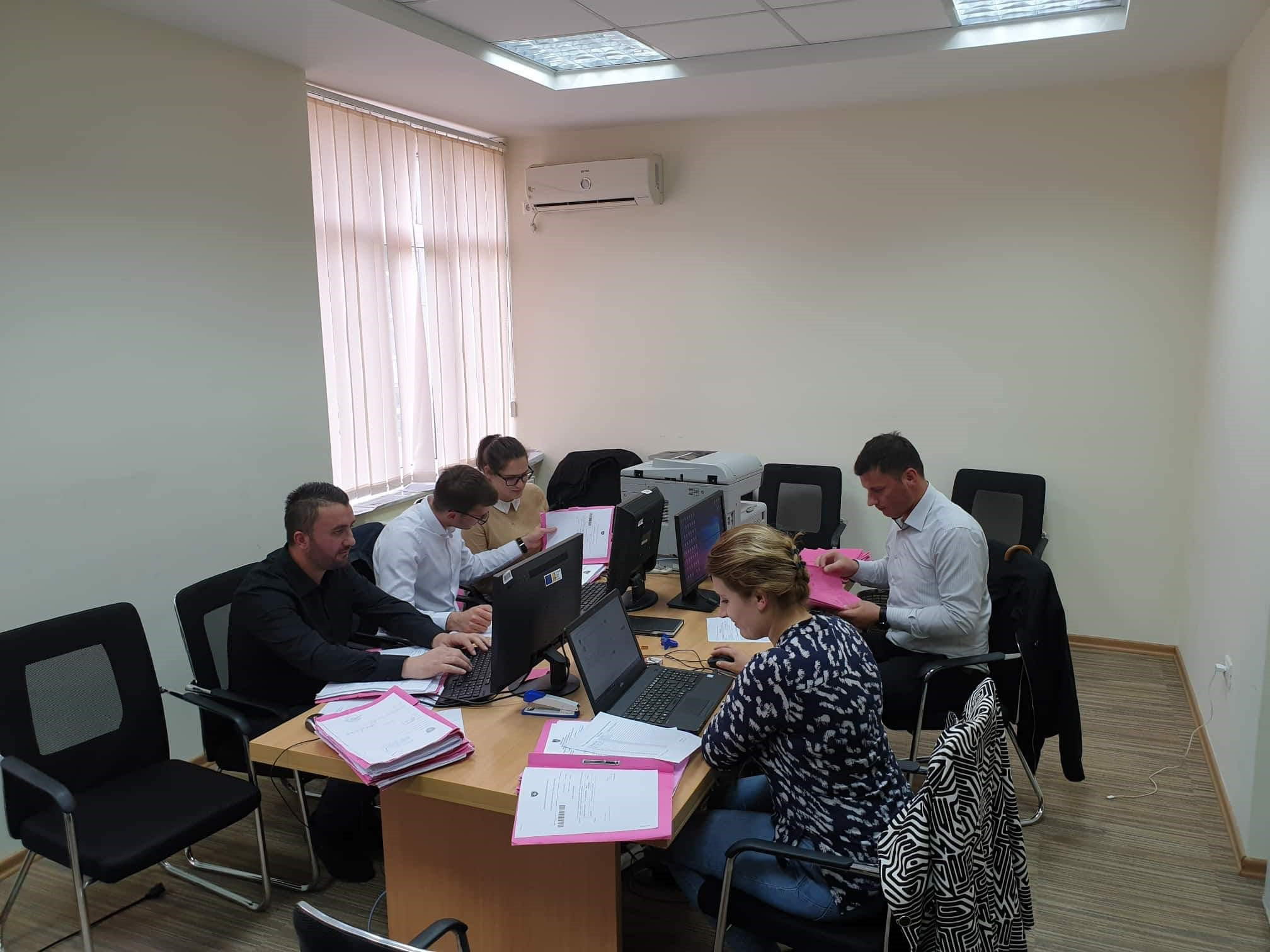 Basic Court of Pristina – Lipjan Branch completed the registration of criminal backlog cases in the CMIS system
