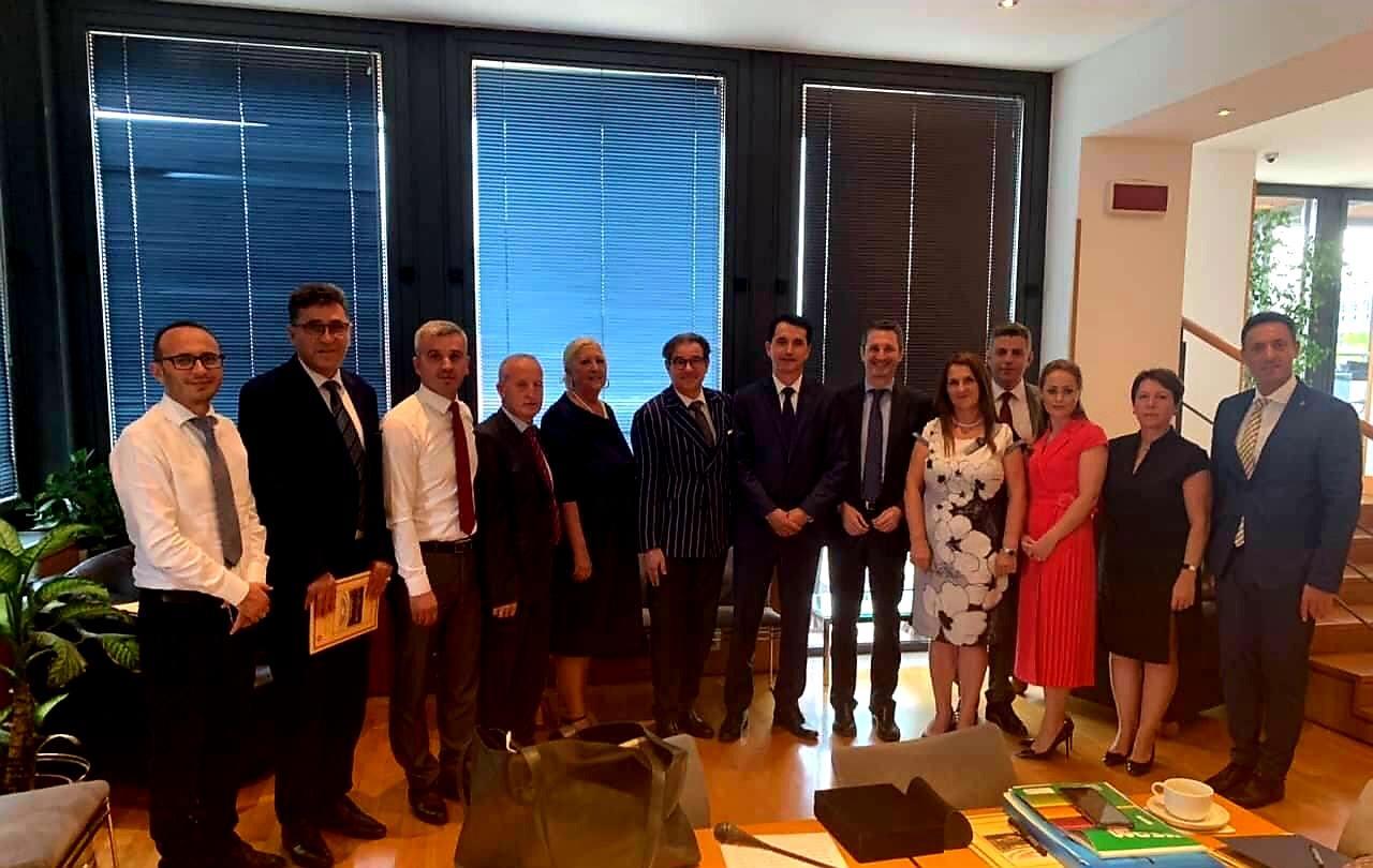 Kryesuesi Çoçaj ka qëndruar për vizitë zyrtare në Itali