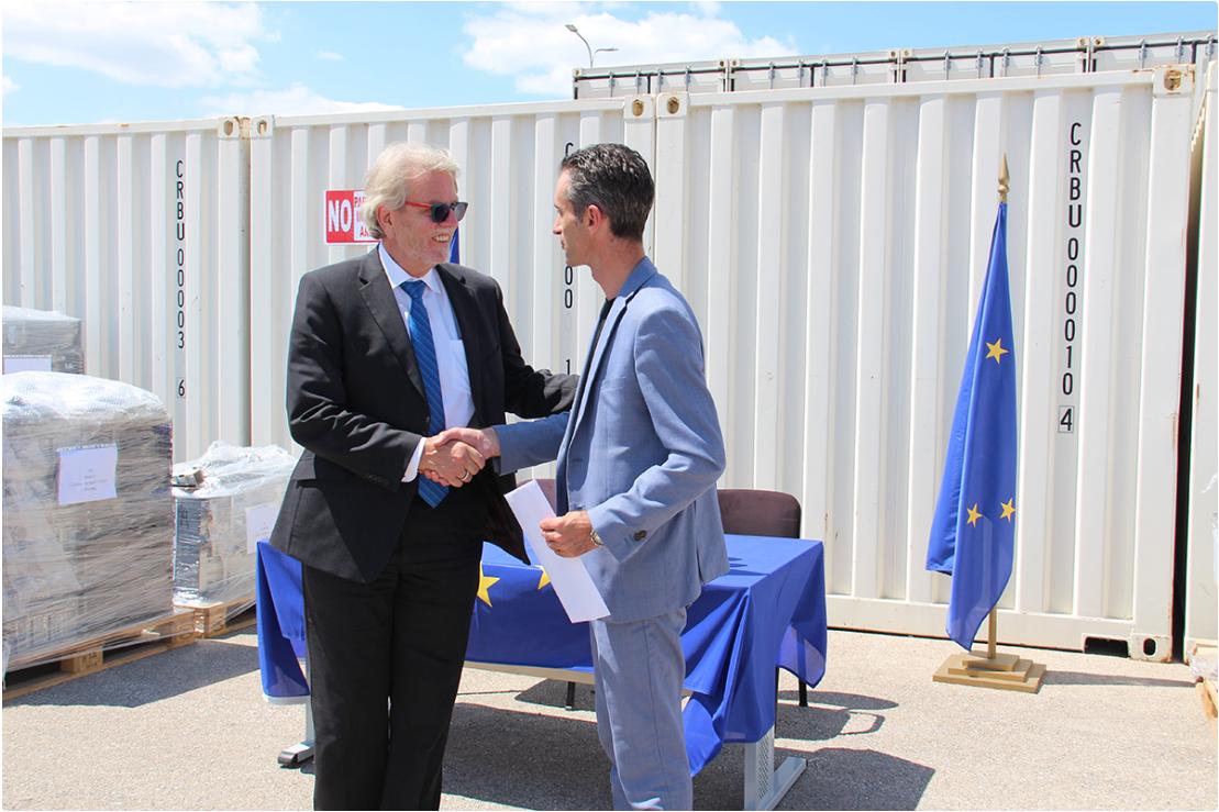 Sudski savet Kosova prima novu IT opremu od EULEX-a