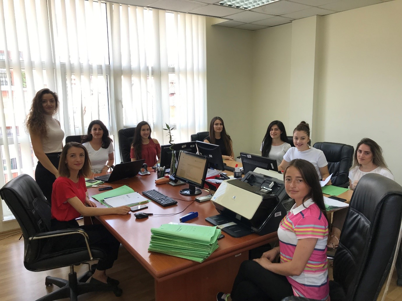 Basic Court of Prizren completed civil case backlogs registration in the CMIS system