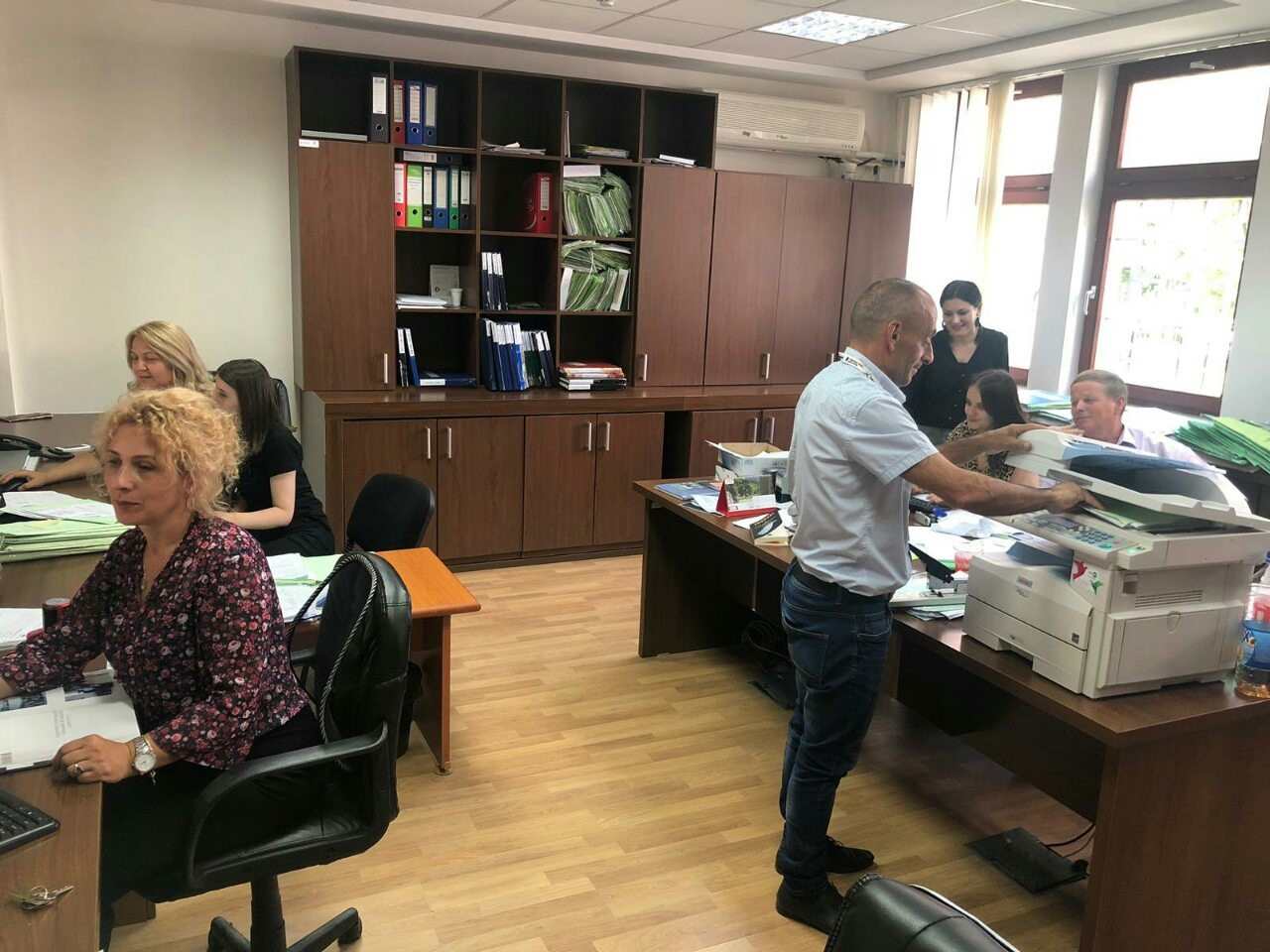 Basic Court of Peja – Deçan Branch completed civil case backlogs registration in the CMIS