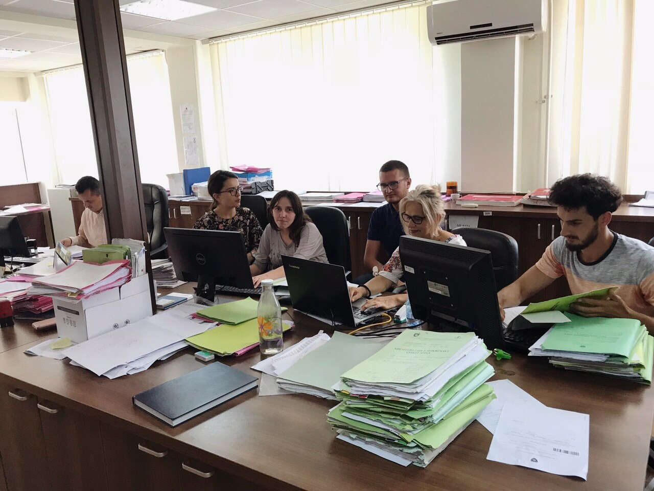 Basic Court of Gjilan – Kamenica Branch completed civil case backlogs registration in the CMIS system
