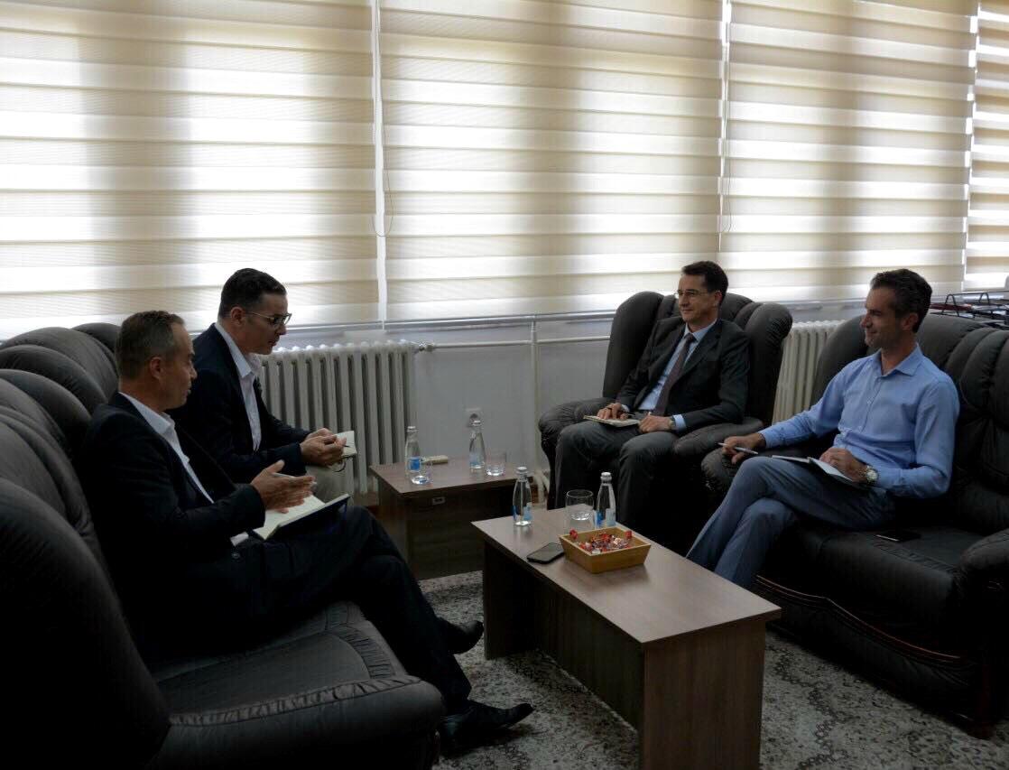 Predsedavajući  Çoçaj dočekao je predstavnike OEBS-a