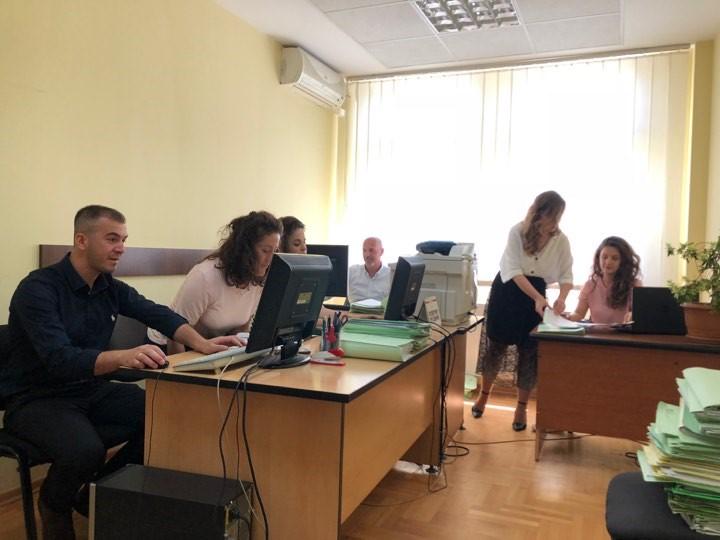 Basic Court of Ferizaj – Kaçanik Branch, completed civil case backlogs registration in the CMIS system