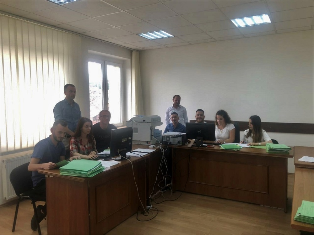 Basic Court of Gjakova – Rahovec Branch completed civil case backlogs registration in the CMIS system