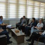 Çoçaj priti në takim përfaqësues të Policisë së Kosovës