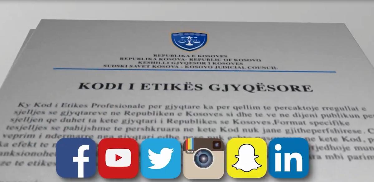 Përdorimi i Mediave Sociale nga gjyqtarët