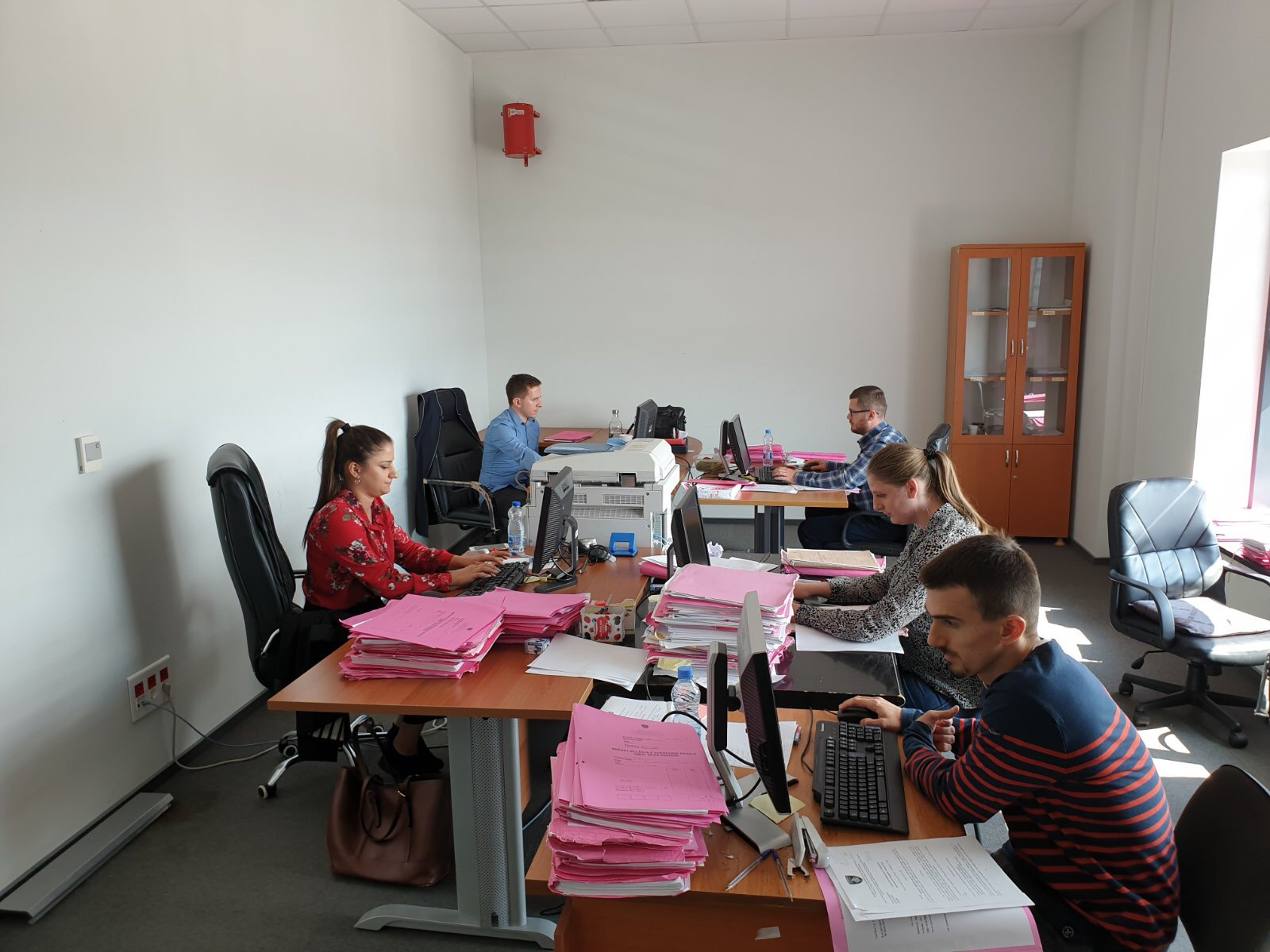 Kosovo Judicial Council increases the number of officials for case backlogs registration in CMIS at the Basic Court of Prishtina