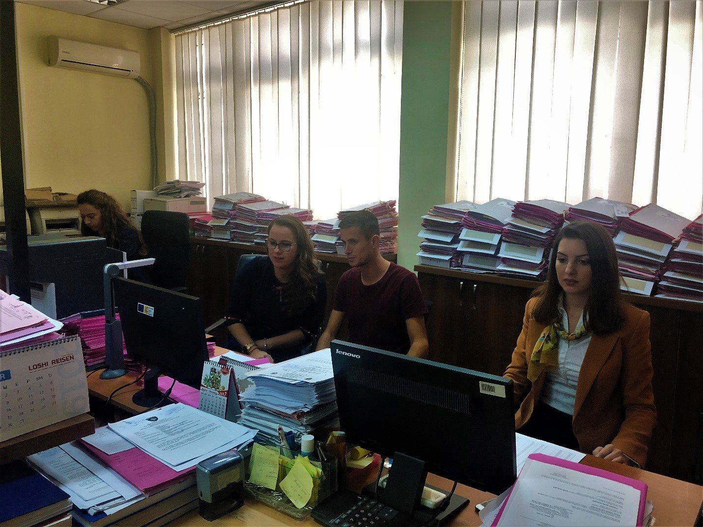 Basic Court of Mitrovica – Skenderaj Branch completed backlog of civil cases registration in the CMIS system