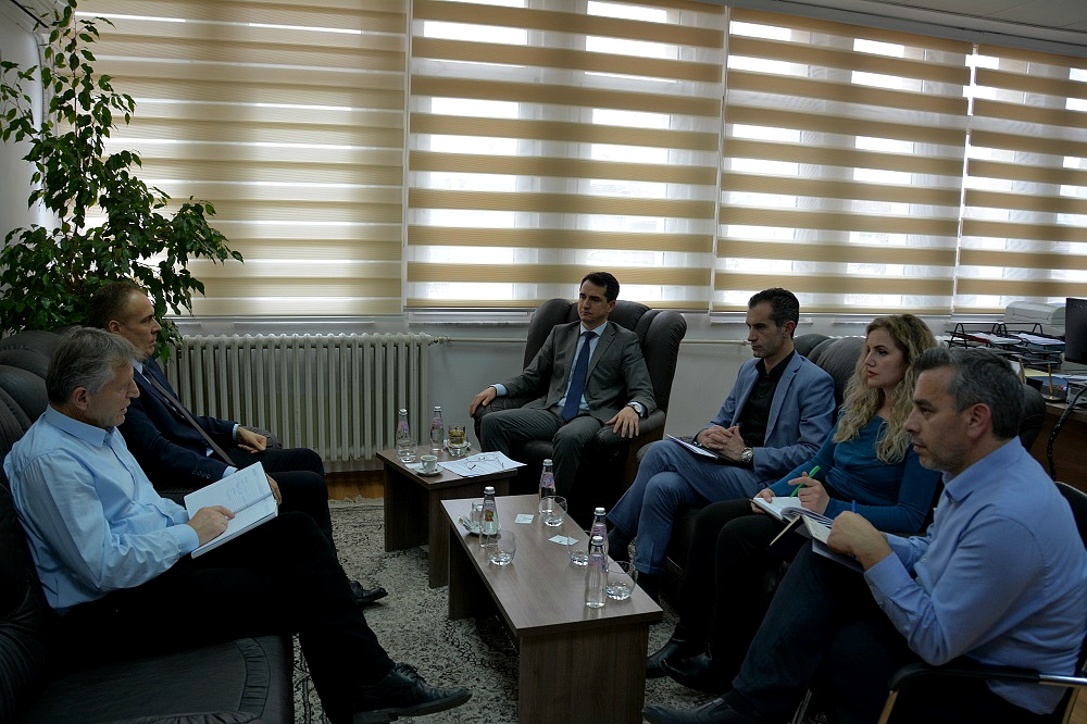 Chairman Çoçaj hosted representatives from the Office for Publication of Official Gazette of the Prime Minister