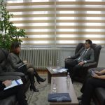 "Çoçaj hosts a meeting with representatives from Regional Project ""Anticorruption"""