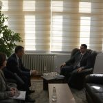 Chairperson Çoçaj hosted the Director of the Academy of Justice