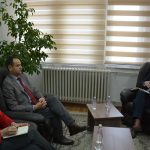 Chair, Çoçaj, hosted a meeting with representatives of the Civil Code Project