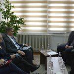 Kryesuesi Çoçaj priti në takim shefin e ri të EULEX-it, Lars-Gunnar Wigermark