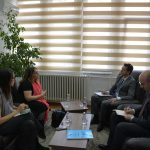 Chairperson Çoçaj hosted a representative from the Horizontal Program