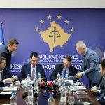 Lansohet ndërlidhja e sistemeve elektronike të prokurorisë  dhe gjykatës si dhe shpërndarja automatike e lëndëve