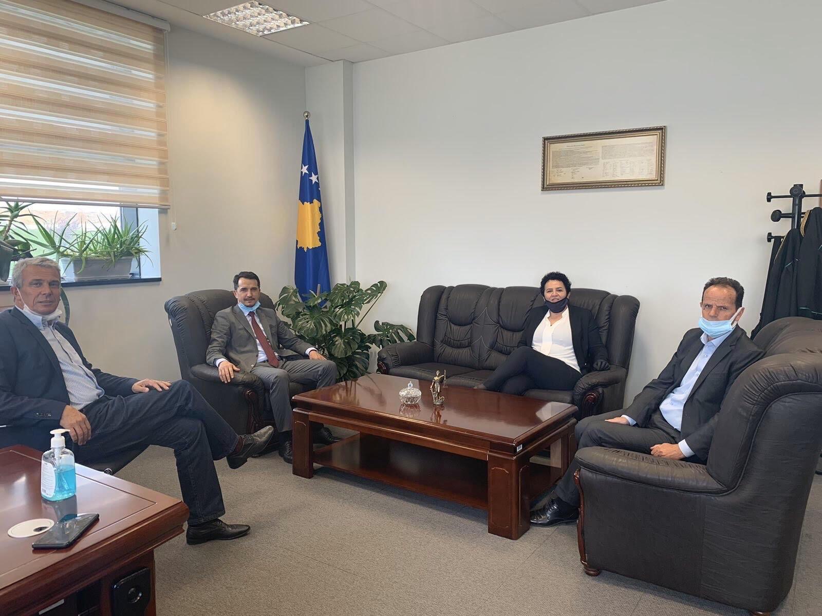 Kryesuesi i KGjK-së, Skender Çoçaj vizitoi Pallatin e Drejtësisë