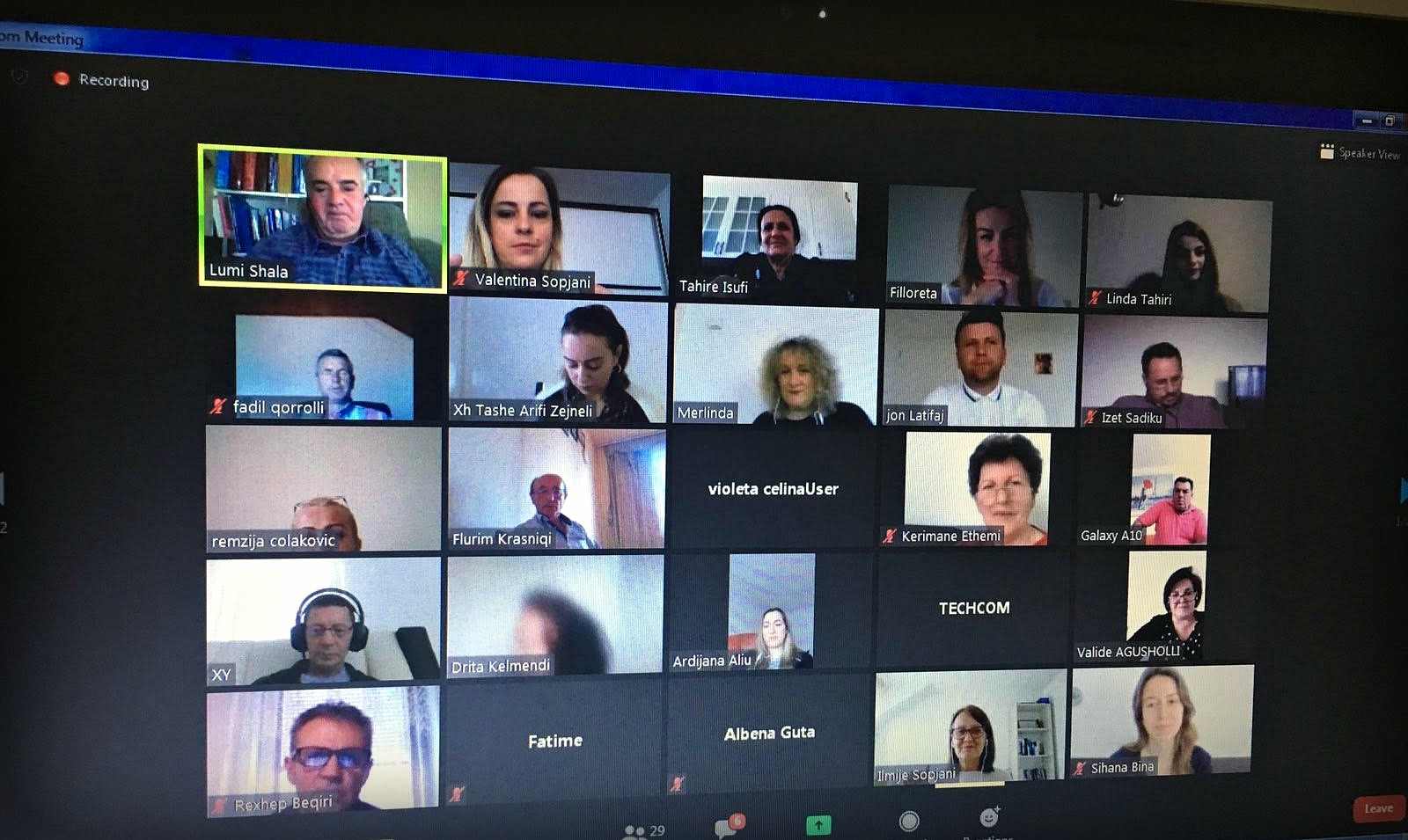 UNDP podržava online obuku za prevodioce SSK-a i sudova