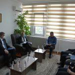 Kryesuesi Çoçaj priti në takim Ambasadoren e BE-së në Kosovë znj. Apostolova dhe   Shefin e Misionit EULEX z. Wigemark