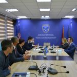 Kryesuesi Çoçaj priti në takim Ministrin e Drejtësisë