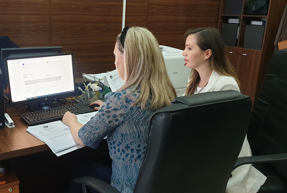 The CMIS Project began with the piloting of manual registries removal in the Basic Court of Ferizaj