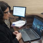 Mbahet seancë gjyqësore online