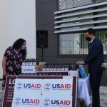 USAID gives a donation to the Kosovo courts