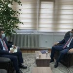 Mr. Çoçaj met the President of the Mediation Chamber