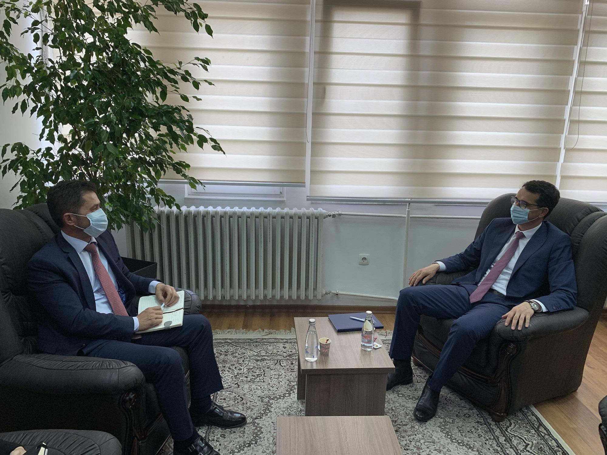 Predsedavajući Çoçaj je dočekao na sastanku predsednika posredničke komore