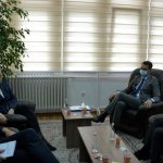 Mr. Çoçaj , the KJC Chair, welcomed the leaders of the EULEX Monitoring Unit