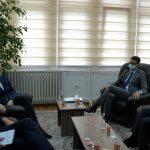 Predsedavajući Çoçaj primio je rukovodioce EULEX-ove Jedinice za nadgledanje