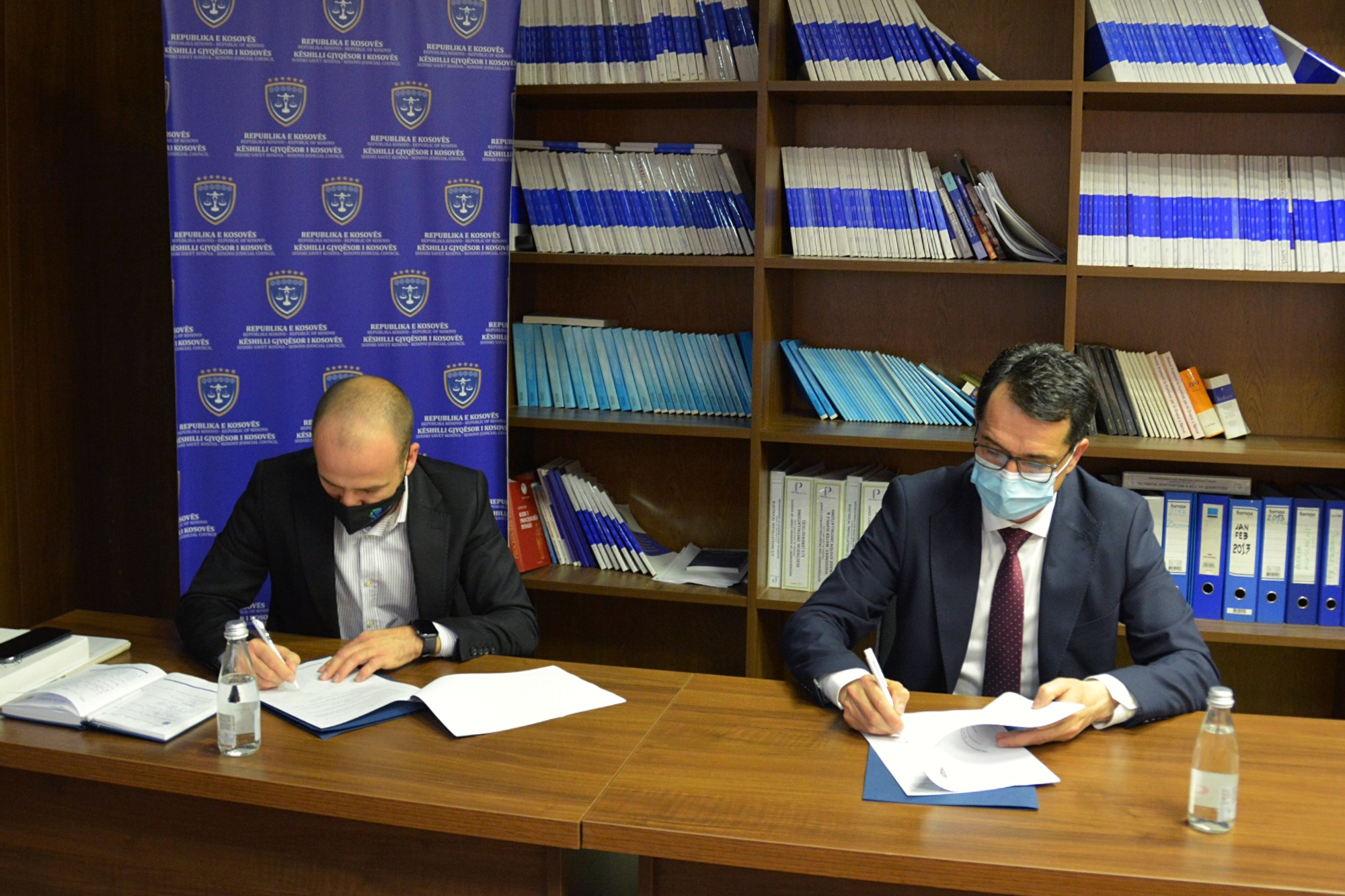 KJC signs the Memorandum of Cooperation with the Kosovo Cadastral Agency