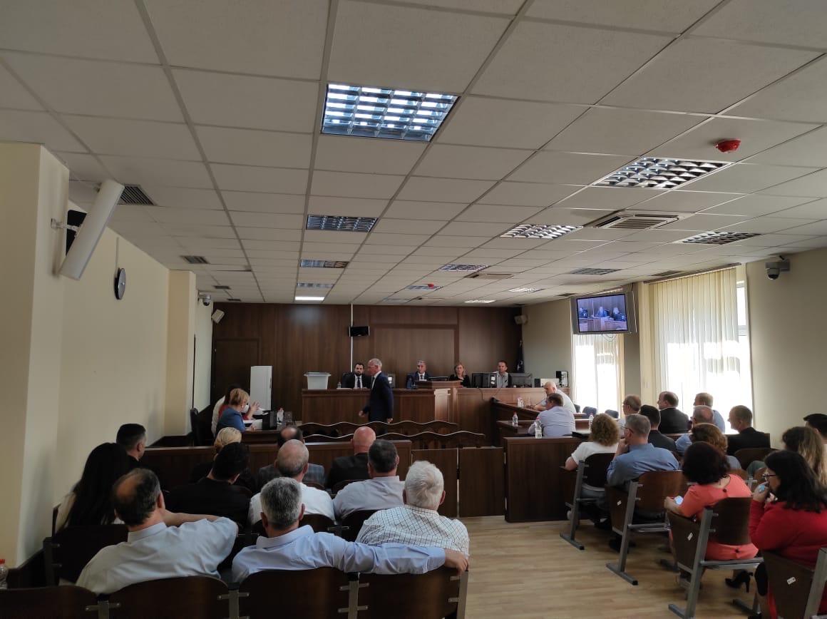 Përfundon procesi i votimit për zgjedhjen e kandidatëve për anëtarë të  Këshillit Gjyqësor të Kosovës në Gjykatat Themelore