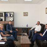 Kryesuesi Zogaj priti në takim Drejtorin e Përgjithshëm të Doganës së Kosovës, z. Agron Llugaliu