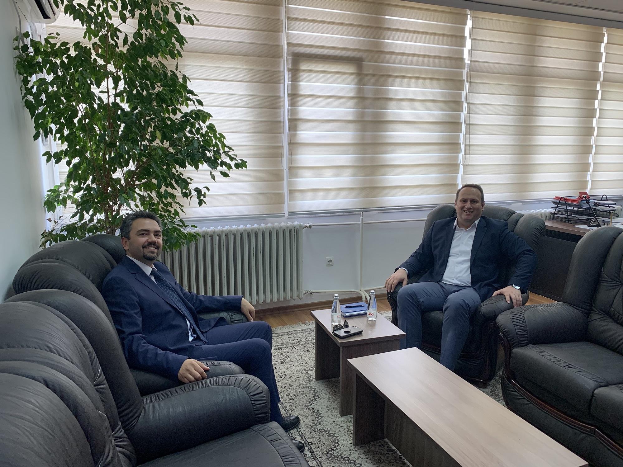 Kryesuesi Zogaj priti në takim Kryetarin e  KQZ-së z.Kreshnik Radoniqi