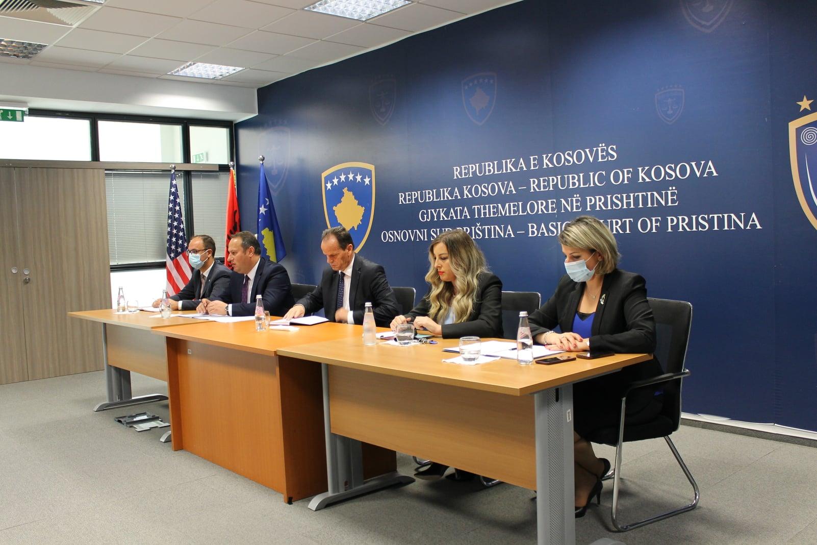 Predsedavajući Zogaj posetio je Osnovni sud u Prištini