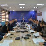 Predsedavajući SSK-a,  Albert Zogaj dočekao je na sastanku sudije građanske oblasti sa svih nivoa