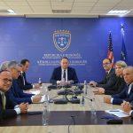 Kryesuesi i KGjK-së, Albert Zogaj takoi kryetarët e gjykatave